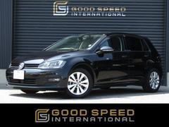 VW ゴルフTSIコンフォートラインBMT 1オーナー 純正ナビ ACC
