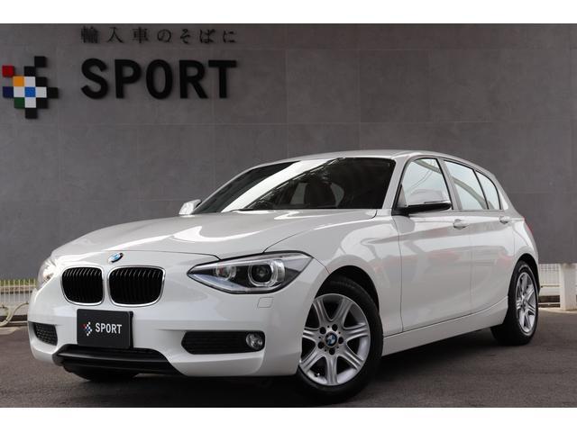 BMW 116i 純正HDDナビ キセノンヘッドライト ETC