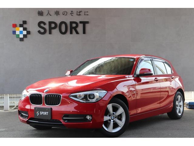 BMW 116i スポーツ 1オーナー 純正HDDナビ フルセグ