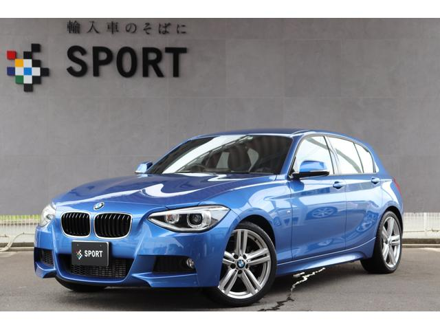 BMW 116i Mスポーツ 純正HDDナビ Bカメラ 18AW