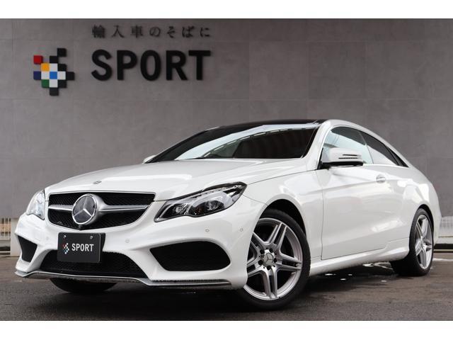 メルセデス・ベンツ E250クーペAMGスポーツPKG 純正HDDナビ フルセグ