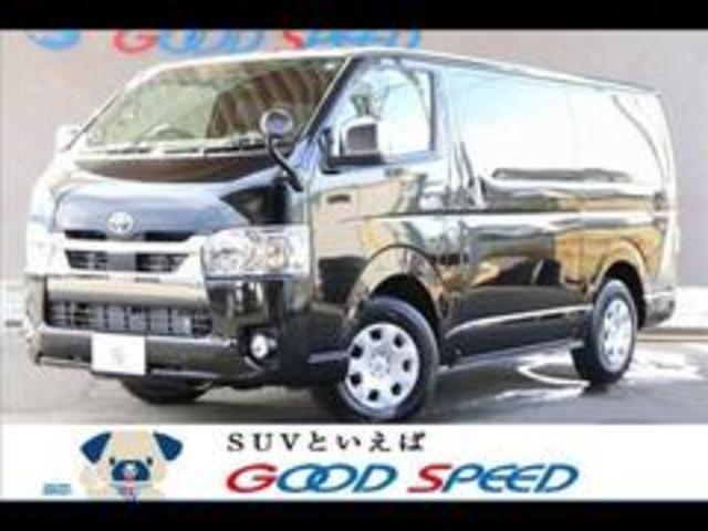 トヨタ スーパーGL ダークプライムII 両側電動ドア デジタルインナーミラー 4WD オートエアコン ディーゼル フロントカメラ AC100V コーナーセンサー