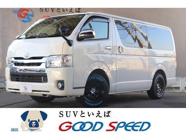 トヨタ スーパーGL ETC ディーゼル スライドドア フォグライト TOYO H20 ホワイトレター デイトナホイール
