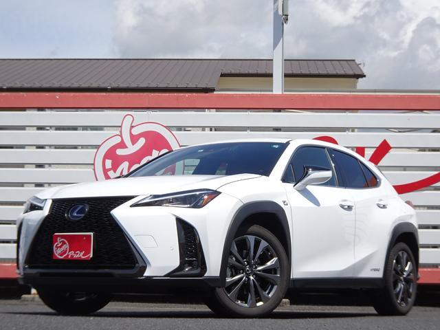 レクサス UX250h Fスポーツ サンルーフ 赤革シート シートヒーター 純正マルチ LEDヘッドライト ETC ドライブレコーダー ステアリングヒーター
