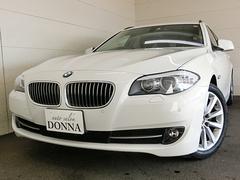 BMW528iツーリング ハイラインP ナビTV 黒革 258PS