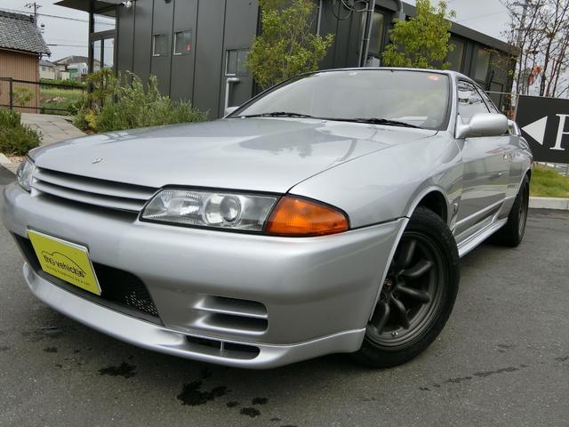日産 スカイライン GT-R テイン車高調 ワタナベホイール HKSマフラー ブリッドバケットシート 左後修復歴有り