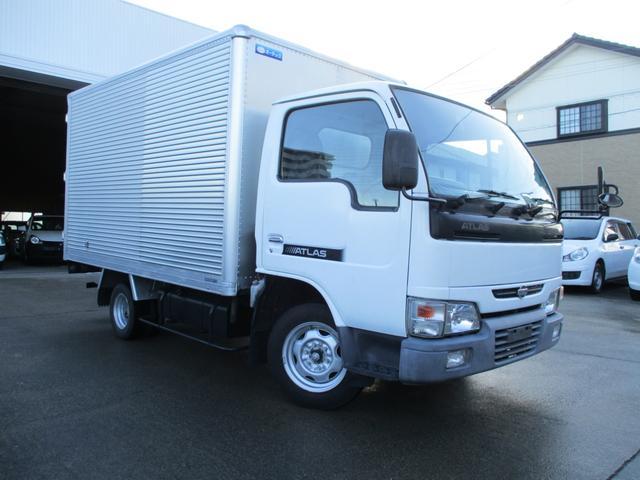 日産 ロングスーパーローDX アルミバン ガソリン車 積載1350