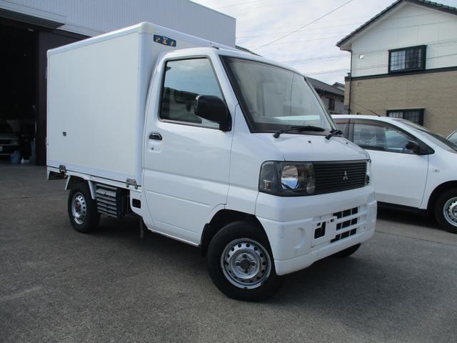 三菱 ミニキャブトラック Vタイプ 冷蔵冷凍車 -5度から25度まで 左ドア 5速MT車 エアコン付き タイミングベルト交換済