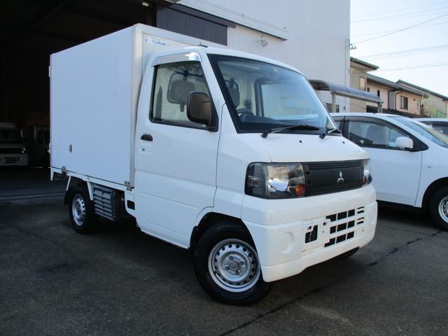 三菱 ミニキャブトラック Vタイプ4WD パートタイム4WD/切り替え式/冷蔵冷凍車/-5度/パワステ/左スライドドア