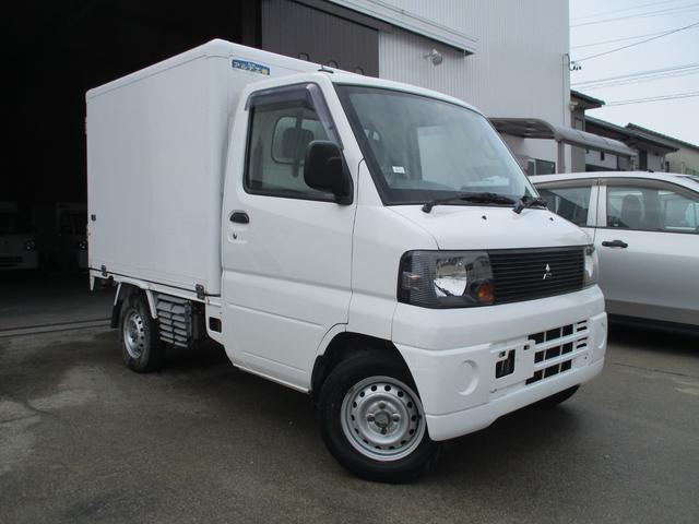 三菱 ミニキャブトラック VX-SE エアコン付 冷蔵冷凍車 左スライドドア 設定-5度〜25度 5速MT車
