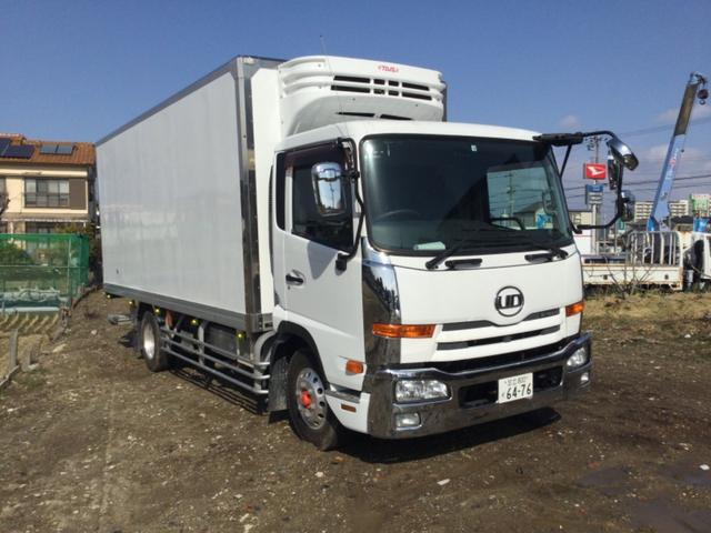 UDトラックス 冷凍車 格納ゲート バックモニター -30℃ ナビ