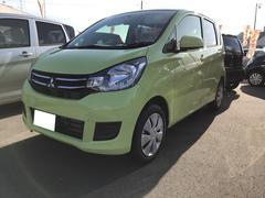 eKワゴンE 軽自動車 整備付 CVT AC 保証付 届出済未使用車