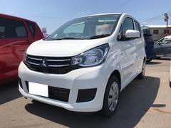 eKワゴンE 軽自動車 整備付 CVT 保証付 AC 届出済未使用車