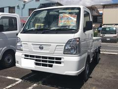NT100クリッパートラックDX AT 軽トラック 届出済未使用車 保証付 ホワイト