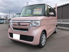 N BOXGホンダセンシング 軽自動車 ピンク CVT 保証付 AC