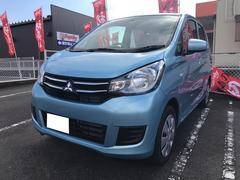 eKワゴンE 軽自動車 ライトブルー 整備付 CVT 保証付