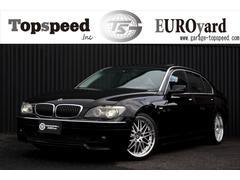 BMW750Li 左ハンドル 社外エアロ ロングボディー 黒革