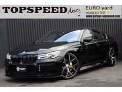 BMW740i Mスポーツ 黒革 SR ハーマンカードン HDD