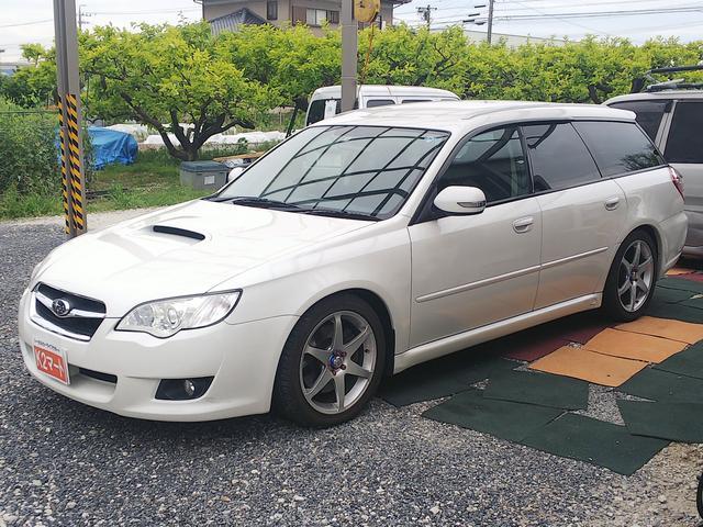 スバル 2.0GTターボ ナビ・車高調・17インチアルミ