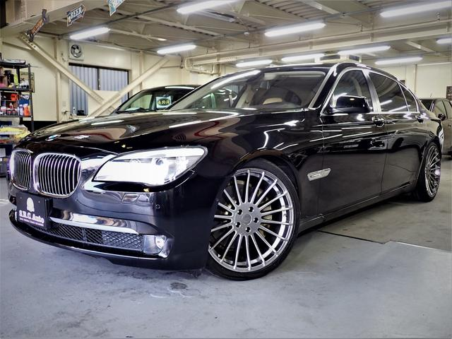 BMW アクティブハイブリッド7L 左H ロング ローダウン 21