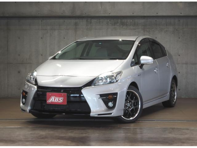 沖縄県の中古車ならプリウス Sツーリングセレクション G'sバンパー 地デジ 3年保証