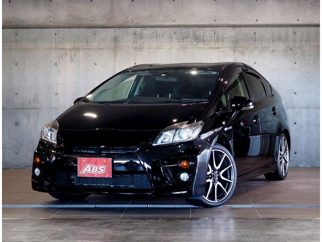 沖縄県の中古車ならプリウス Sツーリングセレクション・G's 3年保証有 純正18AW