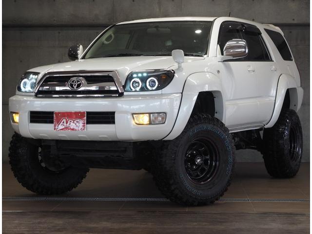 沖縄県の中古車ならハイラックスサーフ SSR-G 8インチボディUP MKW16AW 公認構変済