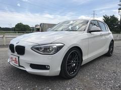 BMW116i 正規ディーラー車 ローダウン 社外アルミ ナビ付