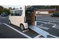 N BOX+G・Lパッケージ 車椅子仕様 アルミスロープ ワンオーナー車