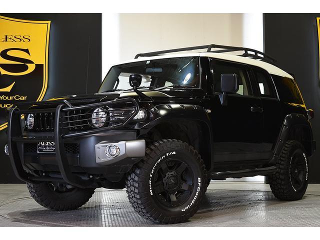 トヨタ ブラックカラーパッケージ リフトアップ 4WD グリルガード