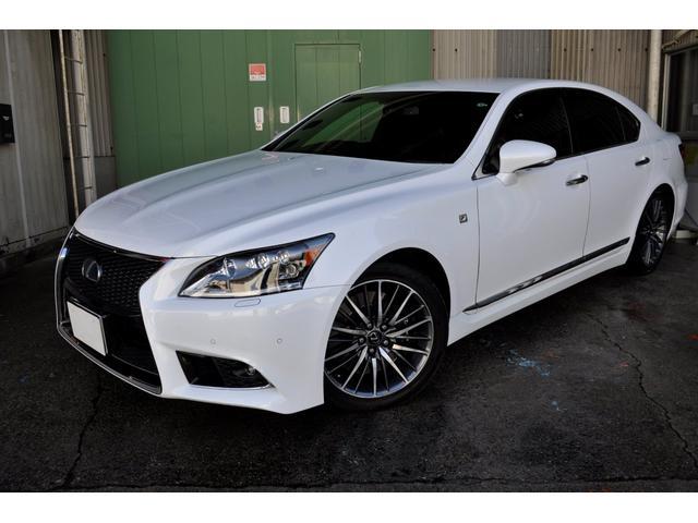 LS LS600h Fスポーツ プリクラッシュ/黒革シート/シートヒーター/シートエアコン/パワートランク/LEDヘッドライト/