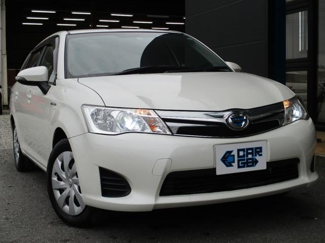 トヨタ カローラフィールダー ハイブリッドG CARGO1年保証付き Bluetoothナビ バックモニター ETC フルセグTV ディスチャージヘッドランプ