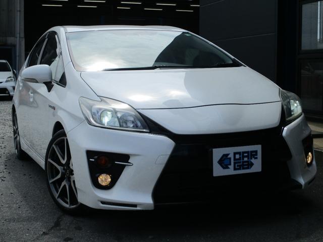 トヨタ プリウス Sツーリングセレクション・G's CARGO1年保証 ディスチャージヘッドランプ SDナビ フルセグTV ETC