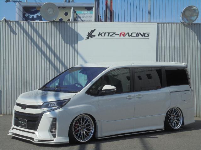 トヨタ 新車KITZコンプリート/アクスル加工!公認取得車高調/ナビ