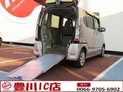 N BOX+G・Lパッケージ 福祉車輌スローパー ナビ パワースライド