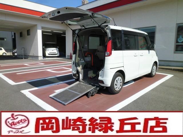 スズキ  車いす仕様車Gリヤシート付 電動ウインチ スローパー
