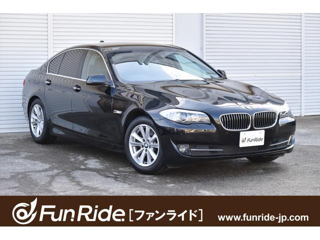 BMW 5シリーズ 523i ハイラインパッケージ ・1オーナー・黒革シート・ナビ・TV・Bカメラ・コンフォートアクセス・禁煙車・車検R4年5月まで