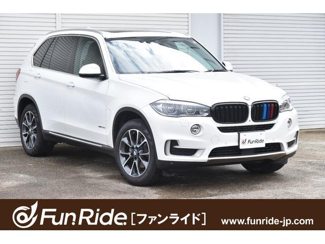 BMW X5 xDrive 35i xライン 黒革・パノラマSR・純正ナビ・地デジ・Bluetooth・360°カメラ・ACC・禁煙車・車検R5年7月まで