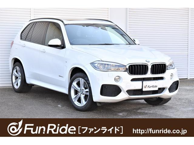 BMW xDrive 35d Mスポーツ 黒革シート・パノラマSR・純正ナビ・地デジ(走行中OK)・360°カメラ・全席シートヒーター・ACC・Pゲート・ソフトクローズドア・禁煙車