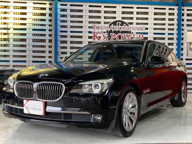 BMW 7シリーズ アクティブハイブリッド7L 黒革 サンルーフ 左H 純正HDDナビ フルセグTV バックカメラ V型8気筒DOHCツインターボ コーナーセンサー 純正19インチAW クリアランスソナー コンフォートアクセス