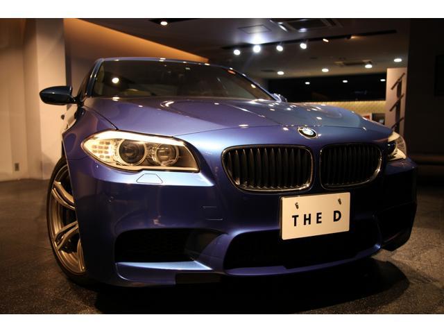 BMW M5ヘッドアップディスプレイ レザーシート