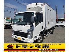 エルフトラック冷蔵冷凍車 ワイドロング 低温ー30℃ 可動式2室 3t