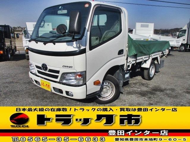 トヨタ 平 全低床シングルT1.25トン AT3方開 荷台ゴムマット