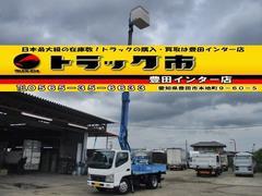 キャンター高所作業車 アイチ SS10A 作業床高9.7m