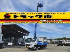 キャンター高所作業車 アイチSS10A 作業床高9.7m