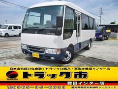 ローザマイクロバス 25人乗  自動ドアバックモニター オートAC