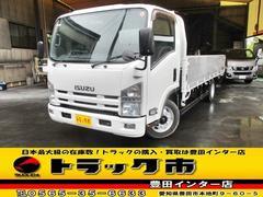 エルフトラック平ボディ アルミブロック ワイド 超ロング 積載3500kg