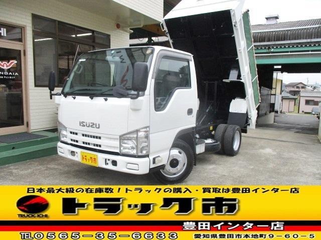 いすゞ ダンプ 全低床 積載2トン 車両総重量5t未満 AT車