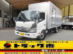 ダイナトラックアルミバン Sパワーゲート 超ロングワイド 3トン サイド扉