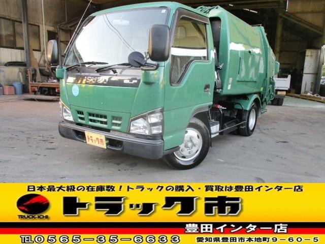 いすゞ 塵芥車 パッカー車 プレス式 4.2立米 積載2トン